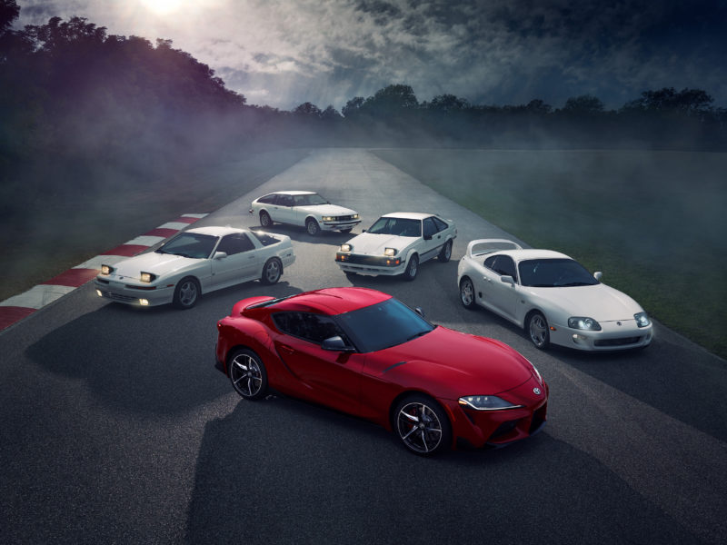 2020 Toyota Supra Group Shot