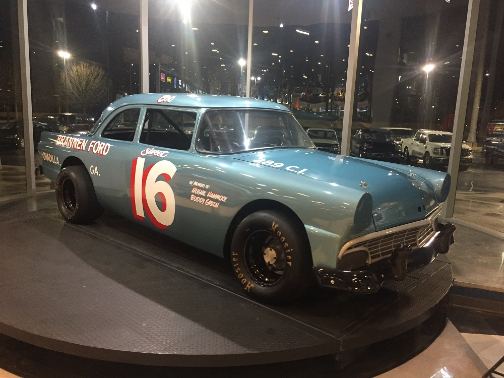 1956 Ford vintage racer Bob Moore
