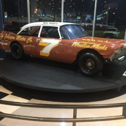 This 1959 Plymouth race car was also driven by Bob Moore, and is also currently on display at the Summit Racing retail store in McDonough, GA. (Image/Brett Moore)