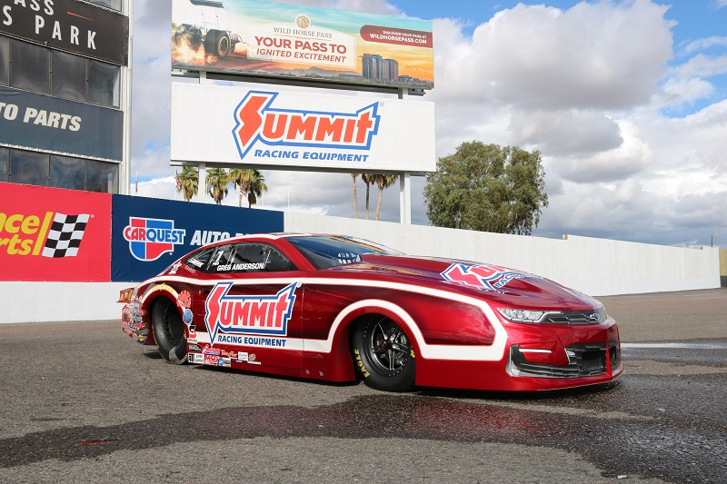 Greg Anderson Summit Racing NHRA Pro Stock Chevy Camaro