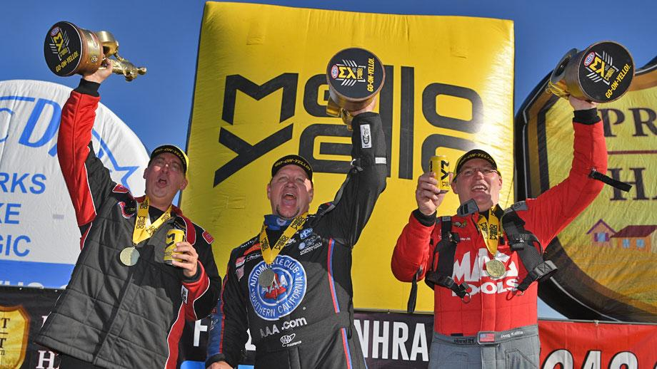 2019 winternationals nhra winners circle pomona