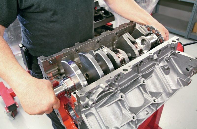 LR4 crankshaft