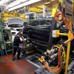 Mercedes-Benz Manufacturing Plant