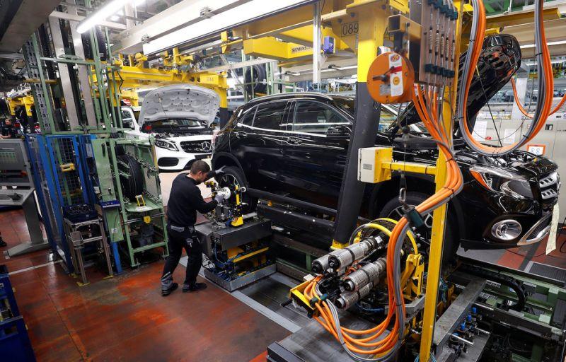 Mercedes-Benz Manufacturing Plant