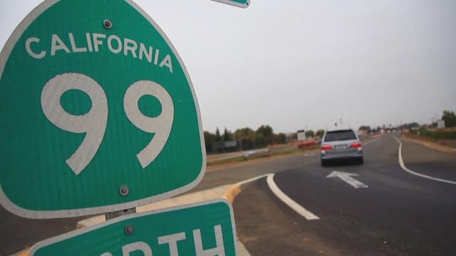 California Route 99 Sign