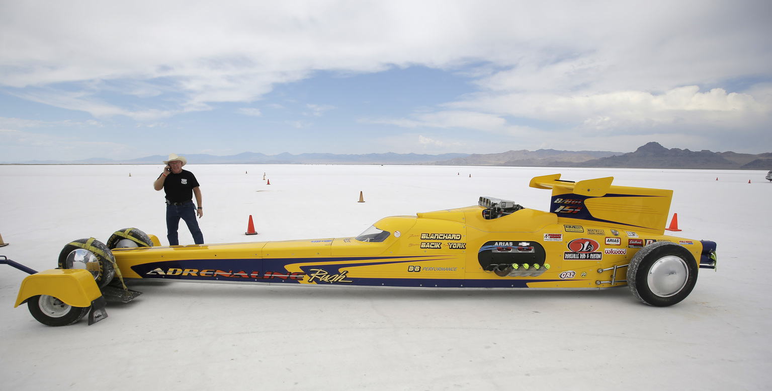 Bonneville Salt Flats Race Car