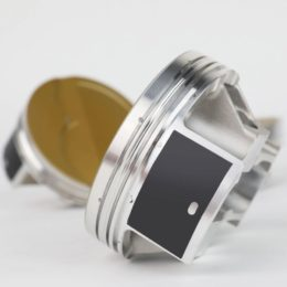 "The Ultra series piston line is ready for big power and is one of the most feature-dense and technology rich piston lines available. JE officials call their Perfect Skirt coating ""revolutionary."" It protects the piston skirts, reduces friction, while eliminating cold-start piston slap and false knock on computer-controlled engines, JE officials say."