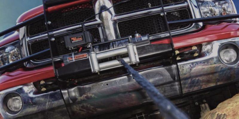 Mile Marker truck winch