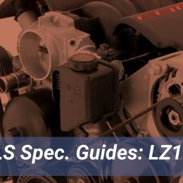 GM LZ1 Engine Spec Guide, LS Engine Guide