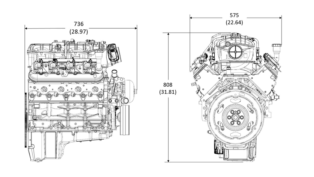 lc8 6 0l engine specs  performance  bore  u0026 stroke
