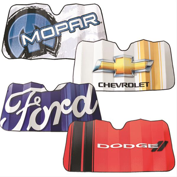 Automotive Accordion Sunshades