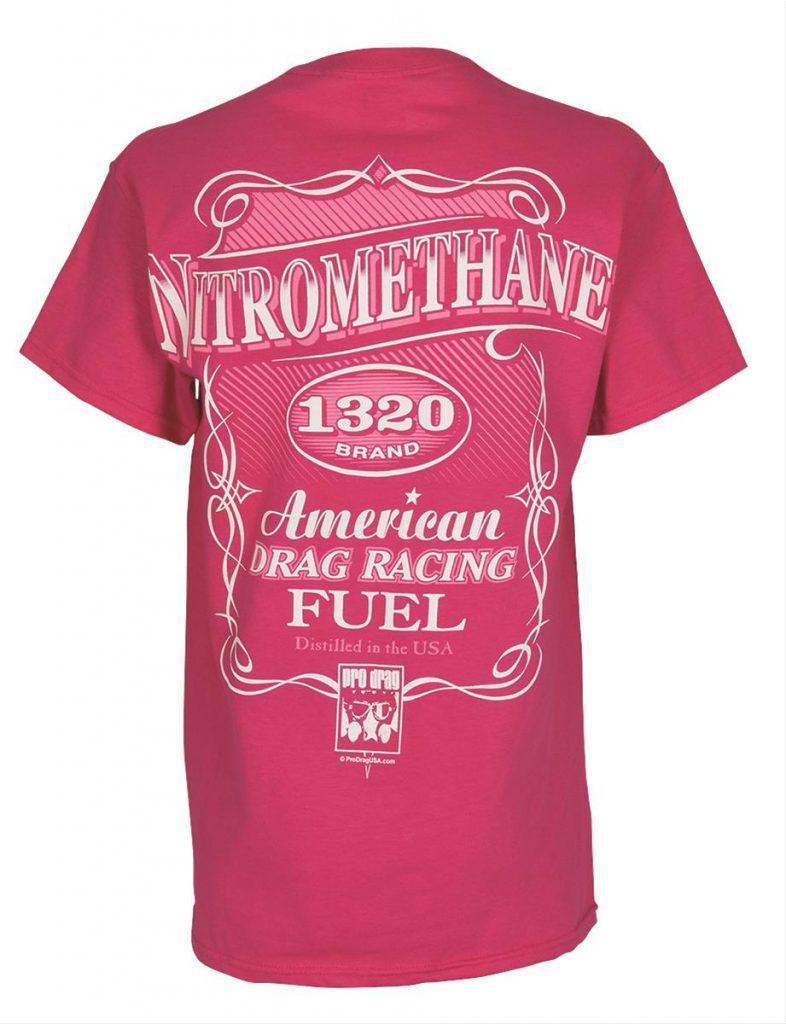 Ladies Pro Drag Nitromethane T-Shirts