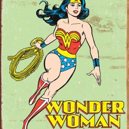 Wonder Woman Steel Sign