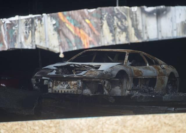 Etna Warehouse Fire