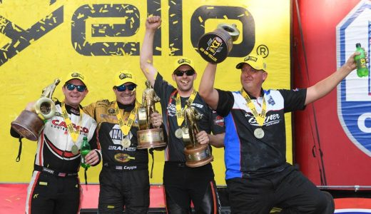 NHRA Wrap-Up: Butner, Torrence, Capps & Hines Win Virginia Nationals