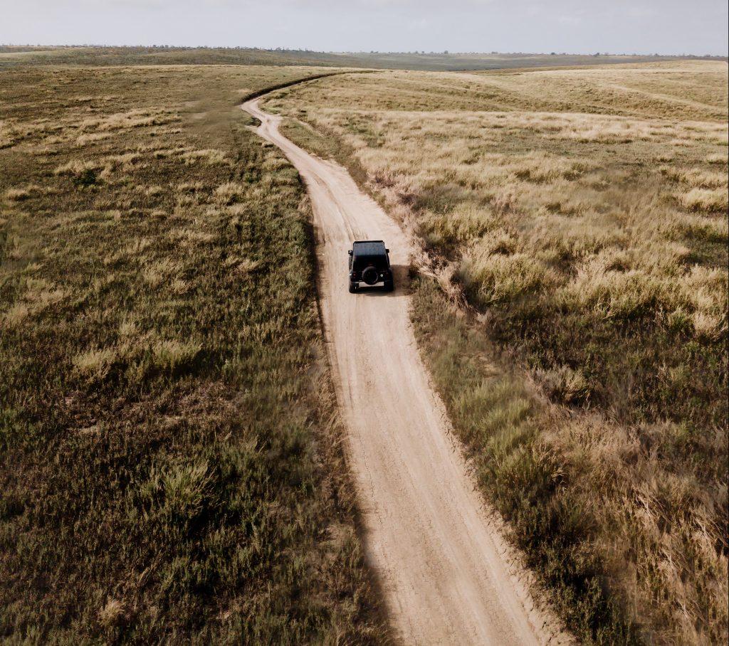 Aerial Trail Photo