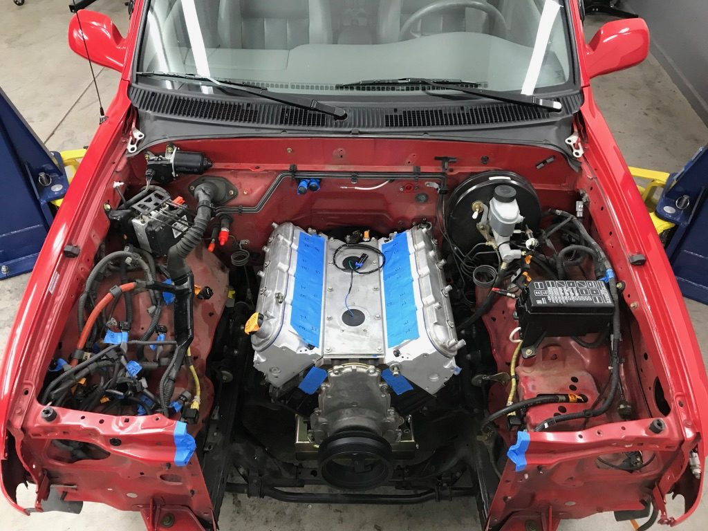 Project Firebolt: The LSX Turbo Tacoma (Part 5): Engine
