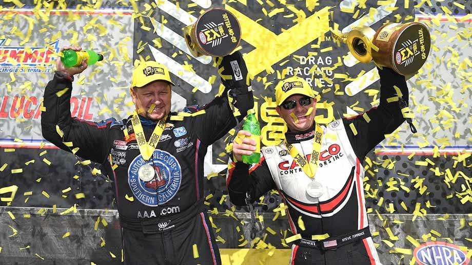 NHRA Wrap-Up: Torrence & Hight Win in Topeka