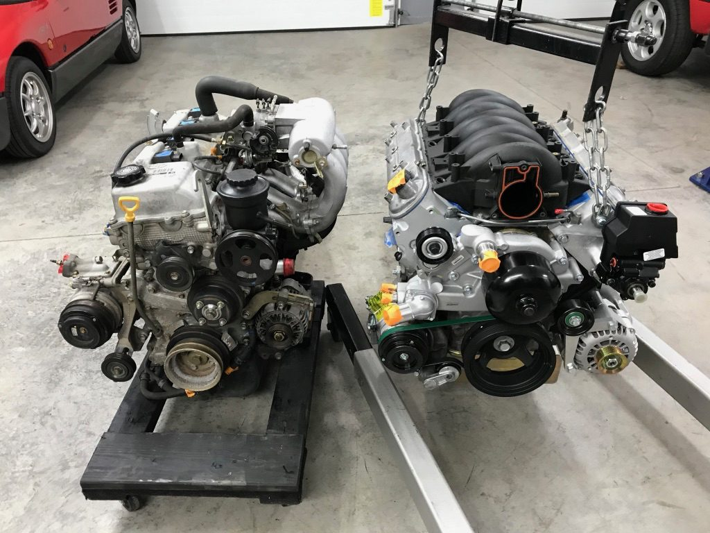 project firebolt  lsx turbo tacoma part  engine accessories transmission arrive