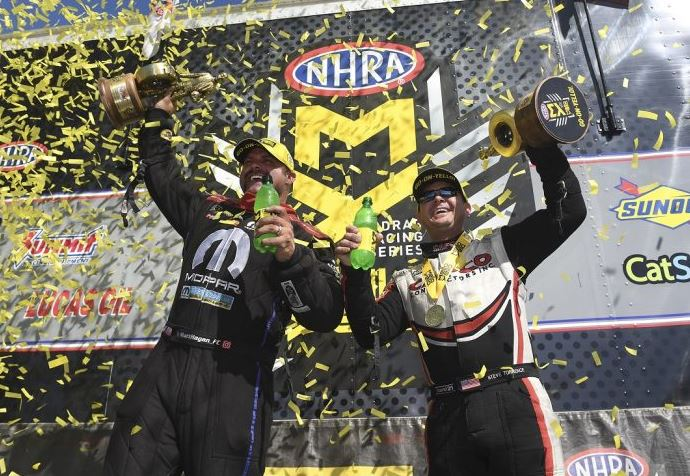 NHRA Wrap-Up: Torrence and Hagan Repeat Wins in New England