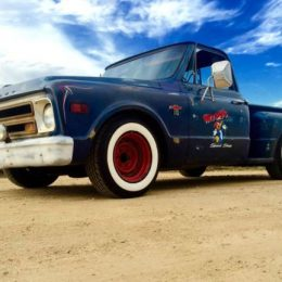 c10 hot rod truck