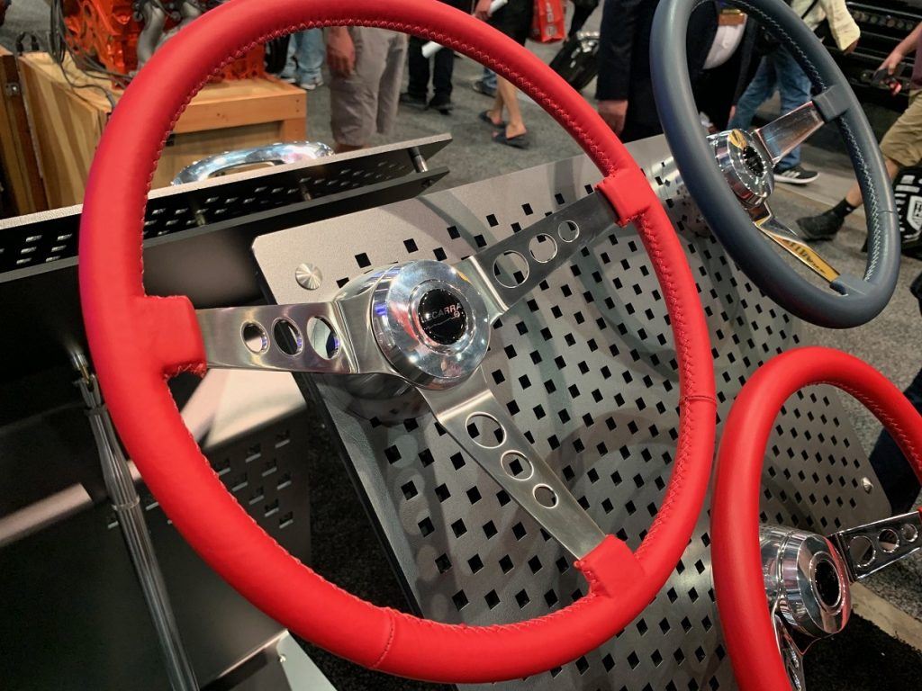 Lecarra steering wheels at SEMA Show 2019.