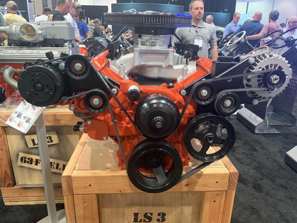 Lokar LS Classic Series LS3 engine at SEMA 2019