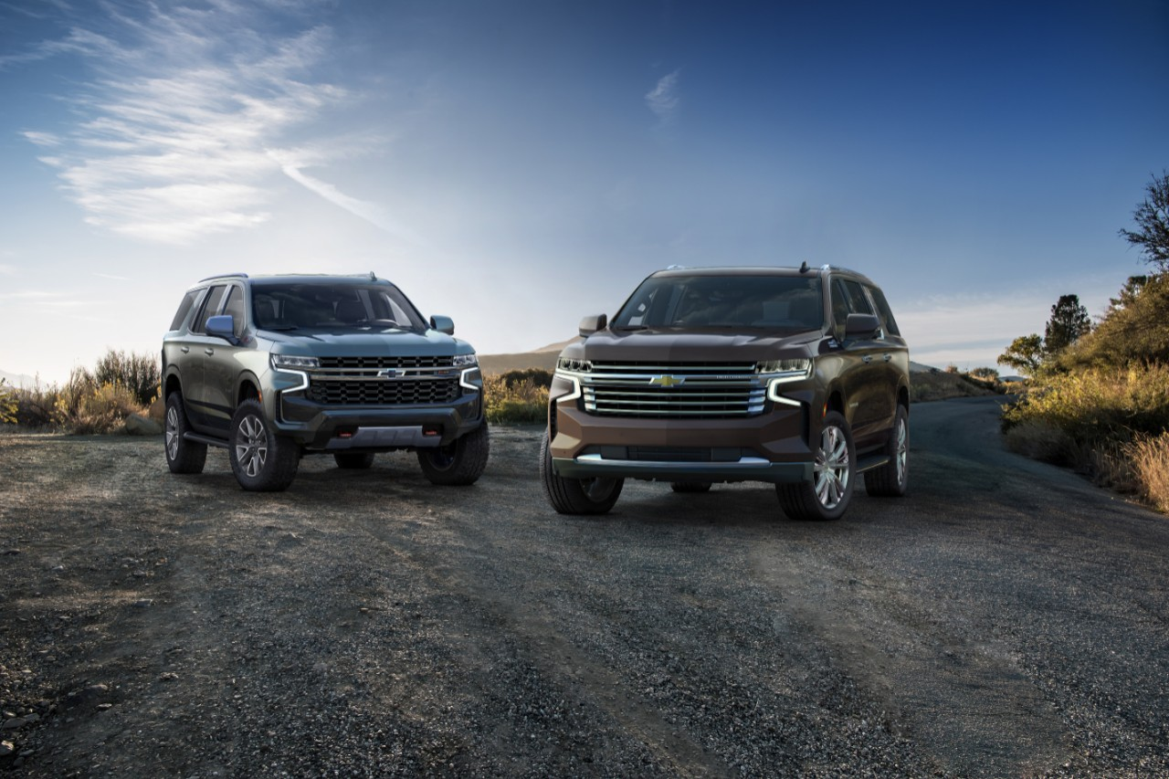2021 Chevrolet Suburban and 2021 Chevrolet Tahoe Make ...