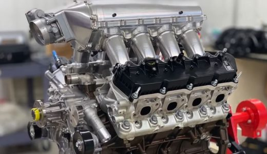 Video: Ford 7.3L Godzilla Engine Weight and Wide-Open Throttle Sound