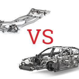 frame vs unibody - image by autoexpertus