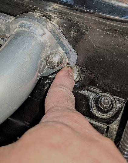 spark plug hole