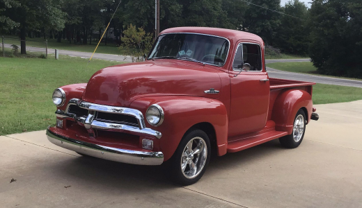 Hemmings Auction Find of the Week: 1955 Chevrolet 3100 Pickup