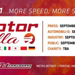 Motor Bella Schedule