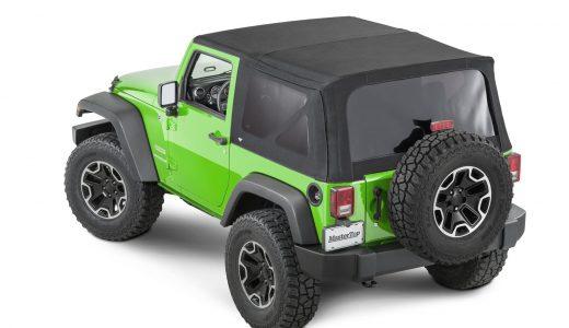 Parts Bin: Say Goodbye to Ripped & Foggy Jeep Wrangler JK Soft Top Windows Thanks to MasterTop