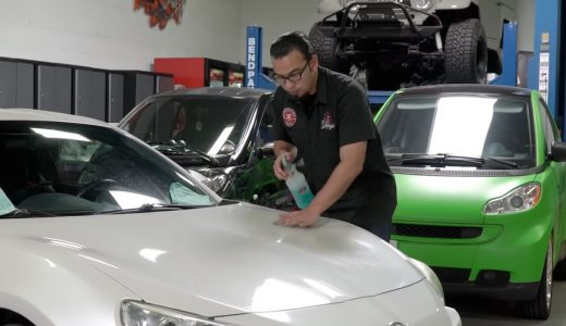 Video: How to Remove Overspray without Damaging Your Car or Truck's Paint—No Polisher Required