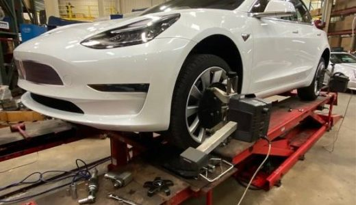 Project White Lightning Update 2: Alignment & Driving Impressions of the Tesla's New Suspension Upgrades