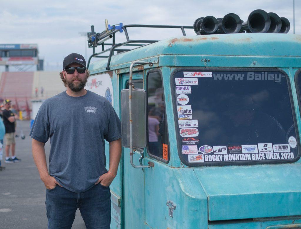 Derek Bieri with Ice Cream Truck