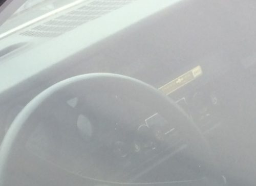 Cosworth Vega Dash Plaque