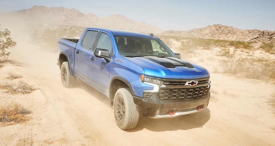 Chevy Introduces First-Ever Chevy Silverado ZR2 Off-Highway Efficiency Pickup Truck
