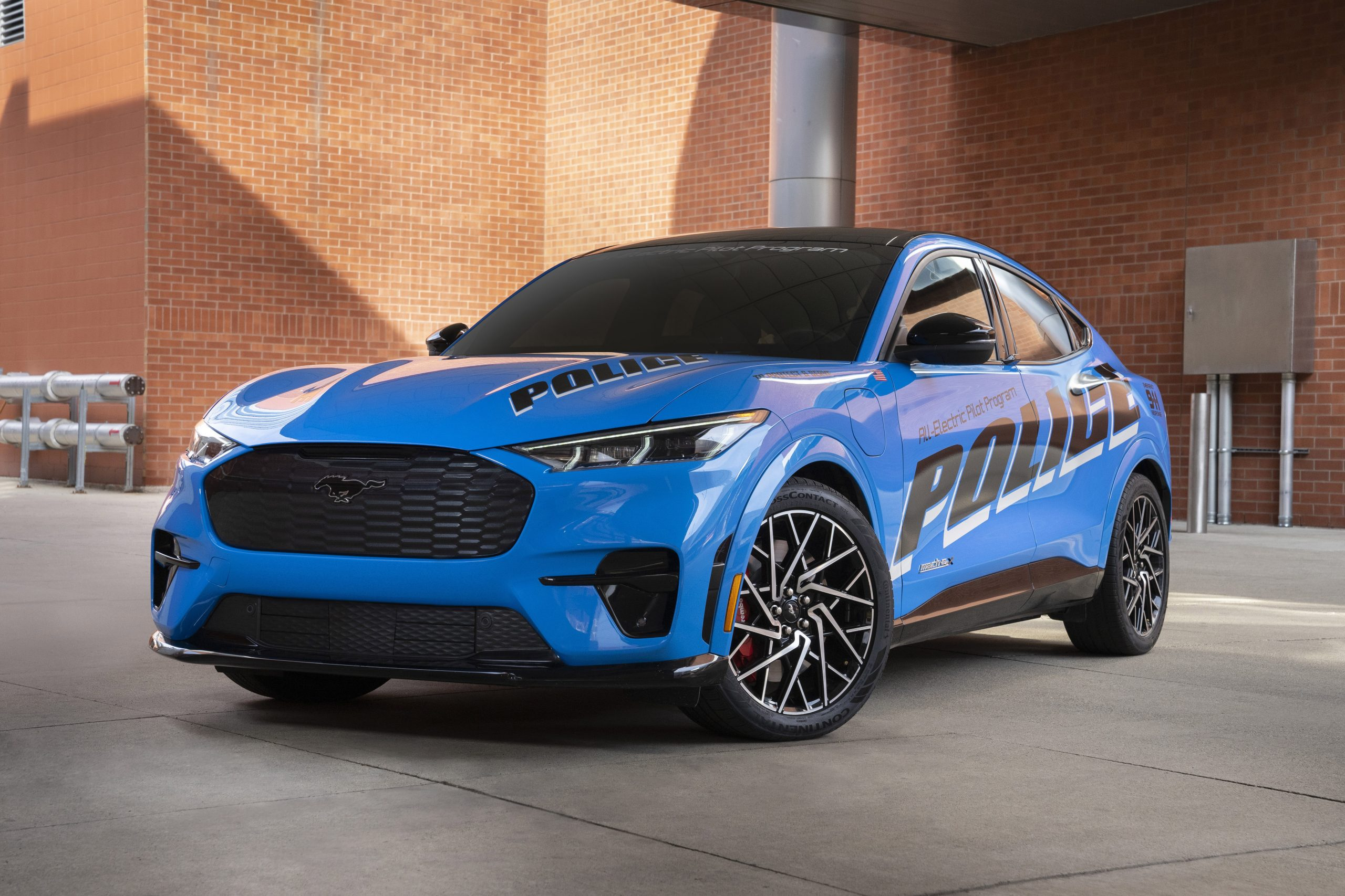 Ford Offers All-Electrical Police Automobile to Michigan State Police for Testing & Analysis